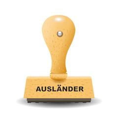 """Ausländer"" Stempel"
