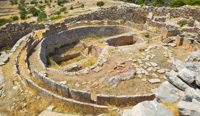 Tomb in Mycenae, Greece