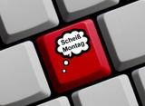 Scheiß Montag - Motivation zu Wochenbeginn poster