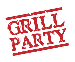 Grill Party Stamp