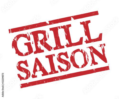 Grill Saison Stempel