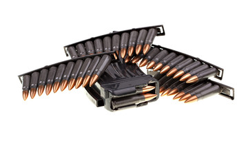 AK 47 ammo with mag