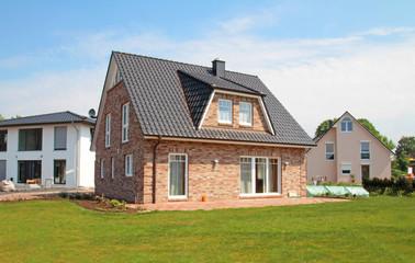 Klinker-Einfamilienhaus