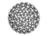 Metal bacterium as a sphere of spheres and cylinders poster