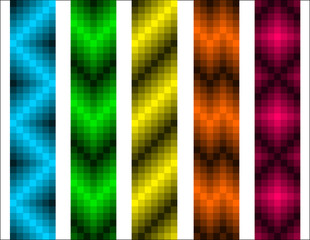 abstract colorful patterns