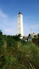 Leuchtturm von Blavand in Dänemark