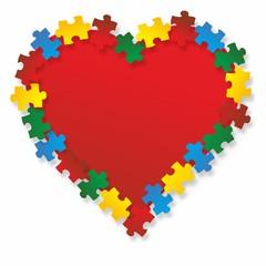 Puzzle Herz 2