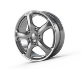 Car alloy wheel poster