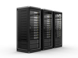 Fototapety Computer servers