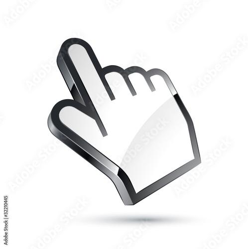 curseur main