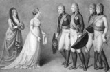 Frederick William and Louisa of Prussia romance scene poster