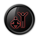 "Black Icon ""Exercise / Fitness"""