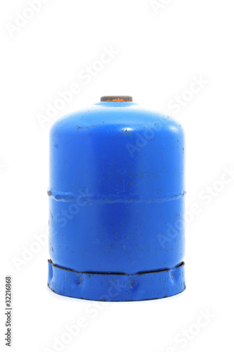 gas cartridge for a portable stove