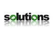 SOLUTIONS Icon (jigsaw piece ideas questions and answers button)