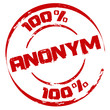 Stempel: 100 % Anonym