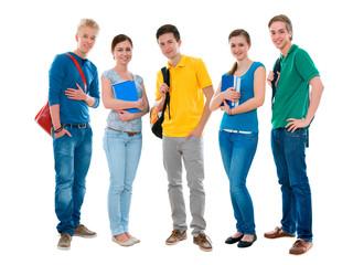 Gruppe der Studierenden
