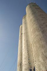 Kletterwand (Silos) auf Fehmarn