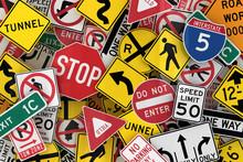 American traffic signs