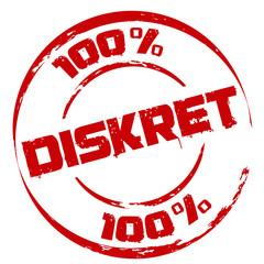 Stempel: 100 % Diskret
