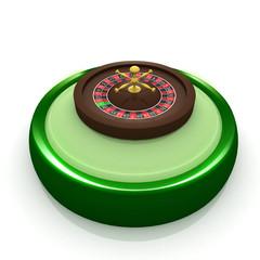 3d casino icon
