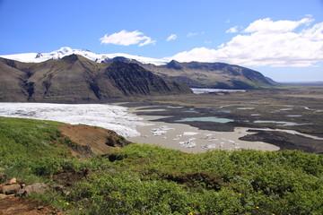 Gletscherschwund auf Island