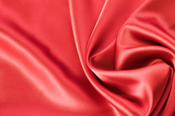 red satin or silk background