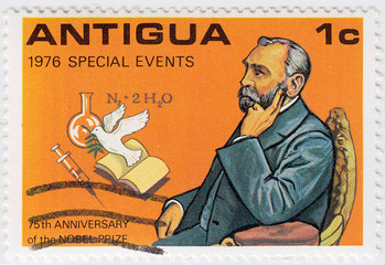 portrait of Alfred Nobel