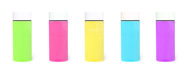 Colour tubes with cream