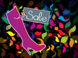 Shoes and Boots Shopping vector