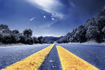 Estrada para o infinito