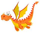Fototapety Flying dragon