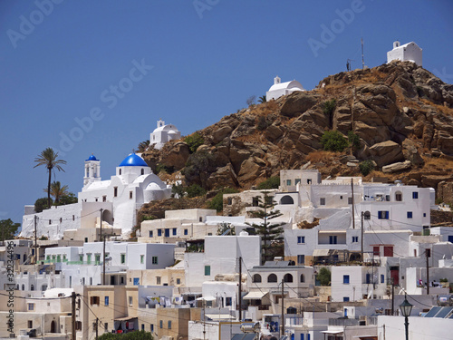 Ios Island Main Village and Churches, Greece