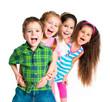 Leinwanddruck Bild - small kids