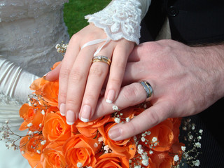 Wedding rings - symbol of love