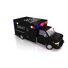 3d swat car