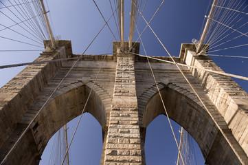 Brooklyn Bridge particular, New York