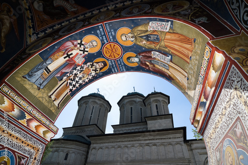 Fresco Of Radu Voda Monastery In Bucharest, Romania