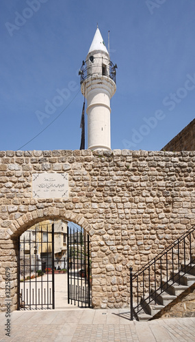 Mosque in Old Tyre Town, Lebanon by diak, Royalty free stocktyre town