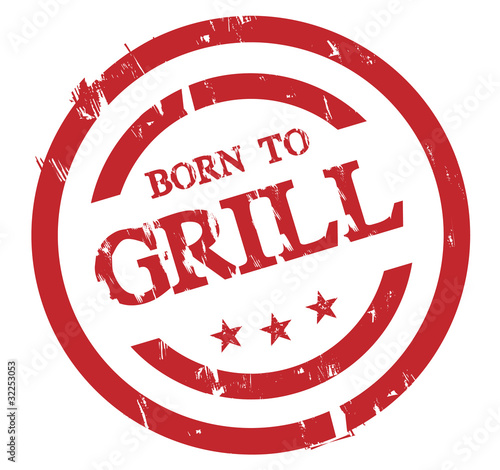 Born to Grill Stamp