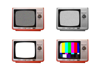 old TVs- 4 retro style television