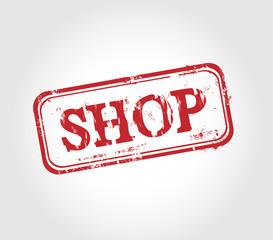 Shop Stempel - Vector