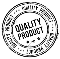 Quality Product Grunge Stempel