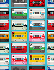 music tape seamless