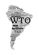 Постер, плакат: WTO World Trade Organization