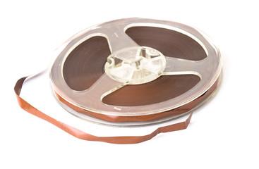 Old reel of audio tape