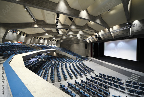 interior of a Congress Palace,  auditorium in Lugano - 32261818