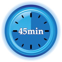 45 MINUTES ICON