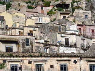 case nella città siciliana di Modica