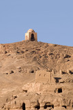 Ruins on the Hills of Tombs of the Nobles,Aswan Egypt