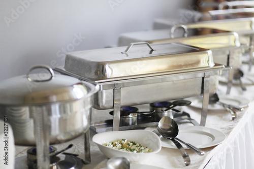 In de dag Buffet, Bar Chafing Dishes